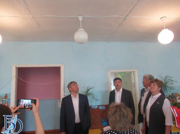 Алексей Цыденов посетил Мухоршибирский район