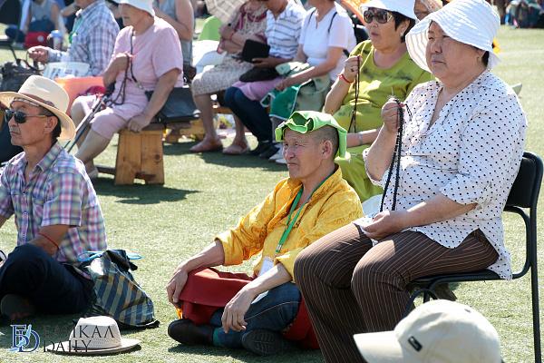60 тысяч человек посетили буддийские учения Калачакры в Бурятии