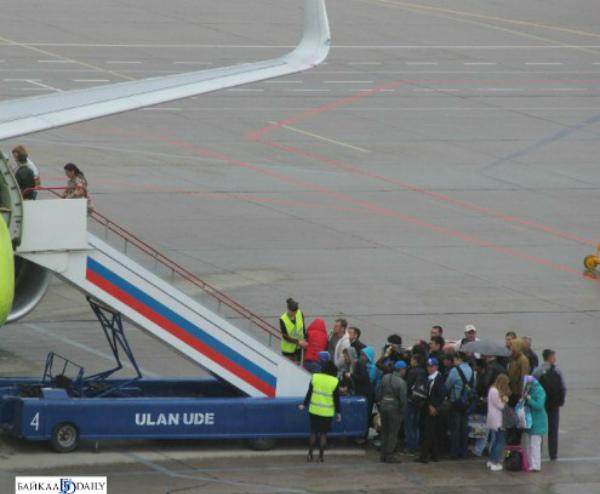 Авиарейс вМонголию возобновили вБурятии