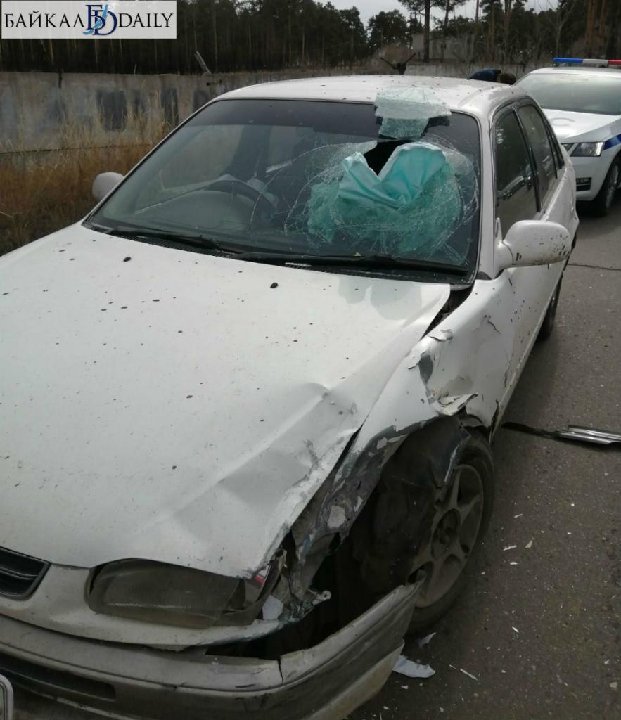 В Улан-Удэ пассажир пробил головой стекло из-за пьяного водителя