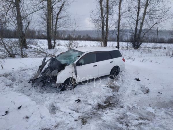 В Бурятии в ДТП с большегрузом погиб водитель