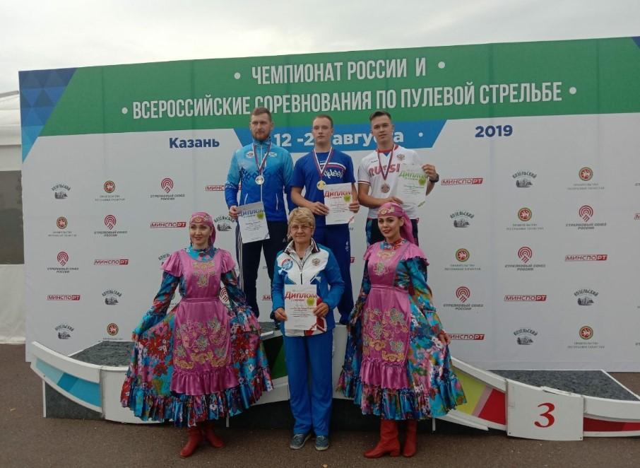 17-летний улан-удэнец впервые взял медаль взрослого чемпионата России по пулевой стрельбе