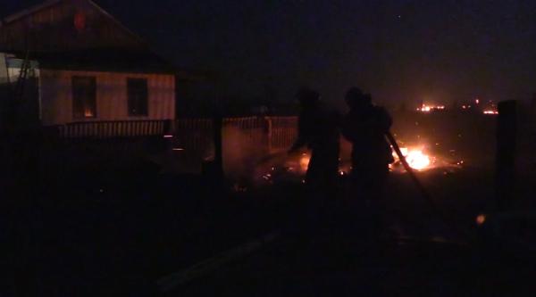 В Забайкалье из-за природных пожаров ввели режим ЧС
