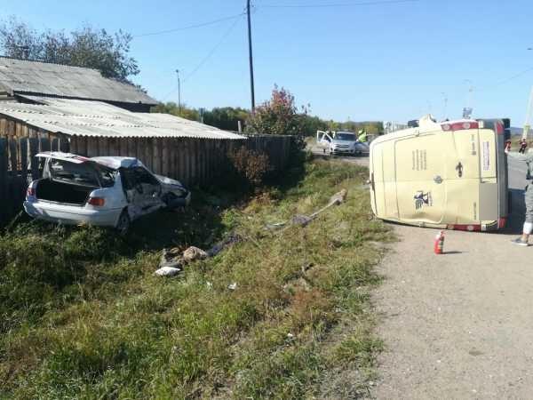 В Улан-Удэ в ДТП с инкассаторской машиной погиб парень