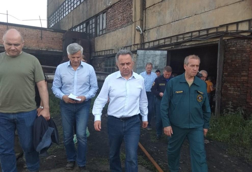 Виталий Мутко вновь прилетел в Иркутскую область