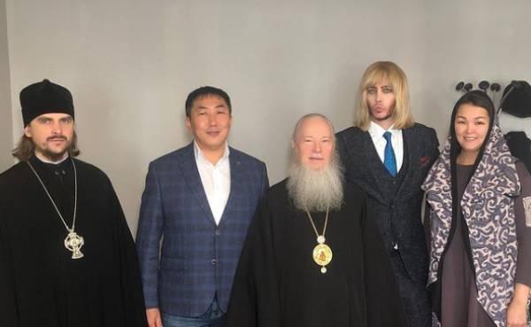 В Улан-Удэ прошла встреча Бурятского митрополита и Сергея Зверева