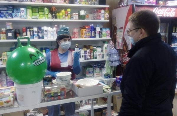 В Чите закрыли торговые точки без отдельного входа из-за коронавируса