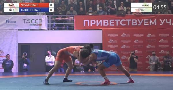 Бурятские борицы взяли пять медалей чемпионата России