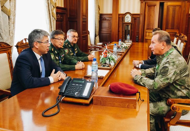 В Бурятии работают директор Росгвардии и главный военный прокурор