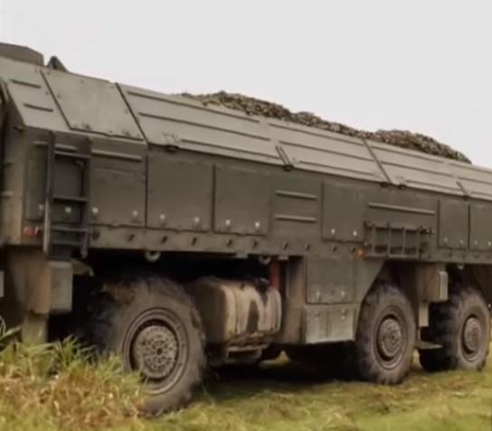 В Забайкалье «Искандеры» выполнили пуски ракет