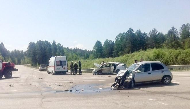 В Иркутской области в ДТП пострадали три человека