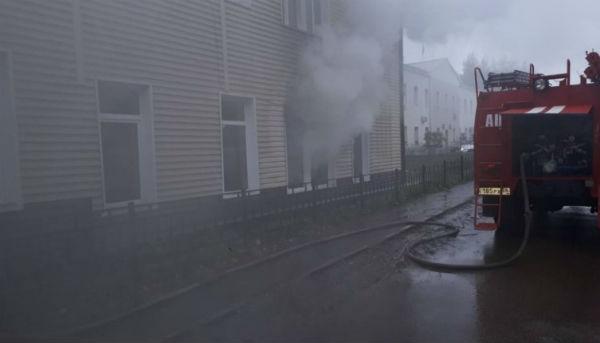 Здание администрации Бохана загорелось из-за поджога