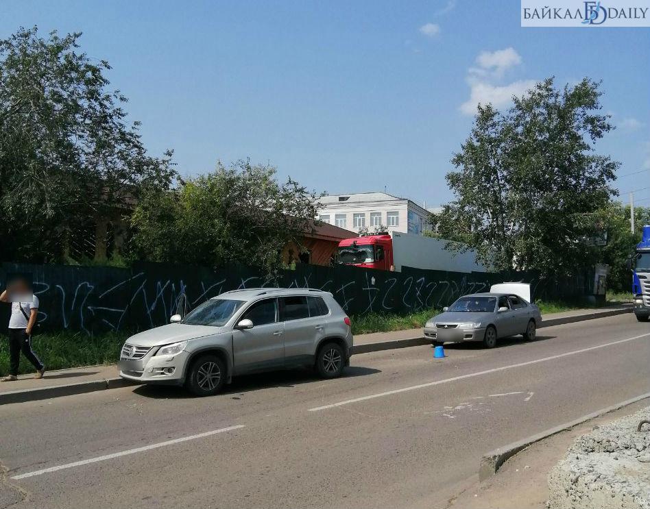 В Улан-Удэ в ДТП попала беременная женщина