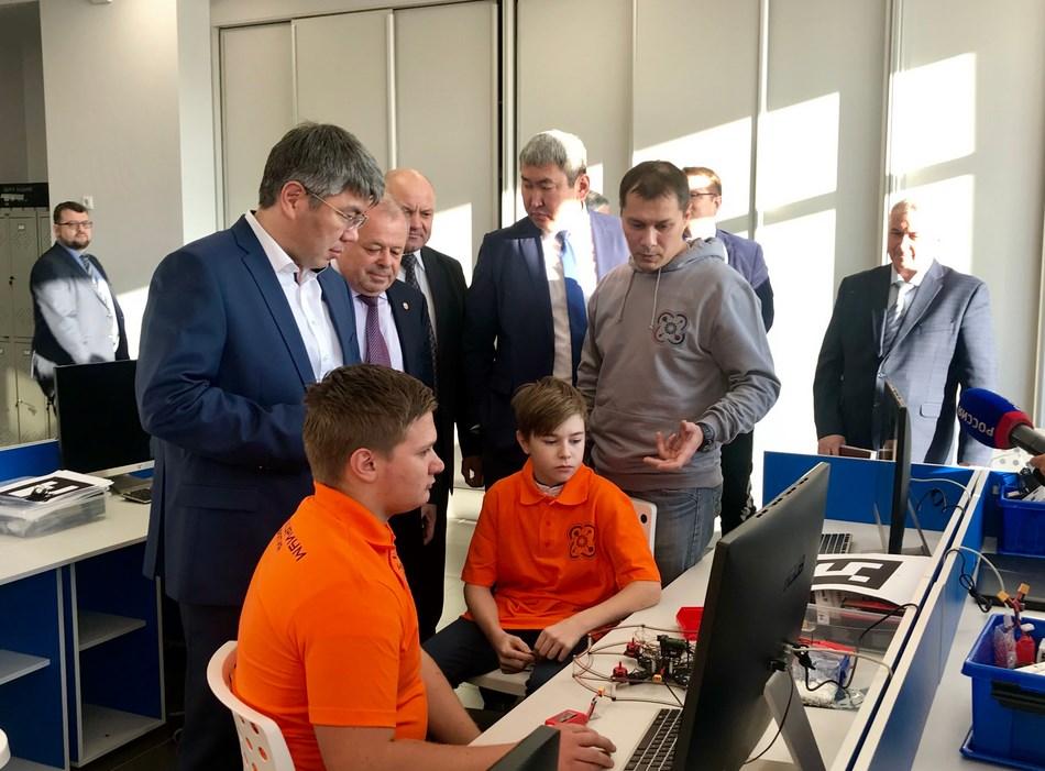 В Бурятии открылся первый детский технопарк