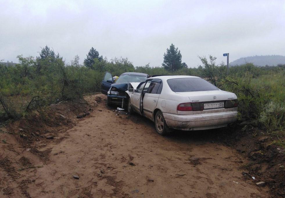 В Бурятии в ДТП пострадали три женщины
