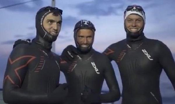 Пловец из Чечни установил новый рекорд на Байкале
