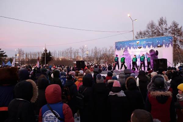 В Иркутске отпраздновать День студента собралось более 2000 человек