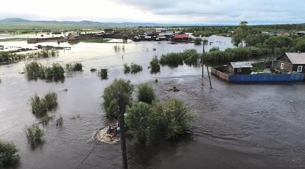 В Забайкалье поступили деньги для пострадавшим от наводнения