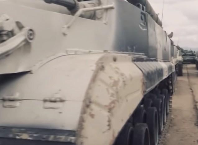 Маневренный бой отработали мотострелки в Забайкалье