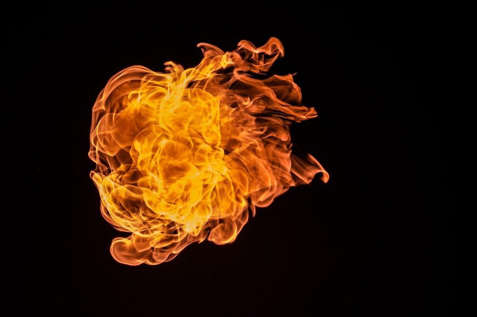 В Бурятии сожгли автомобиль