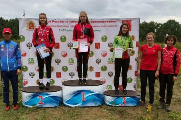Забайкальская ориентировщица стала призёром всероссийских соревнований