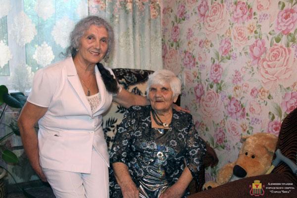 Долгожительница из Читы отметила столетие во второй раз
