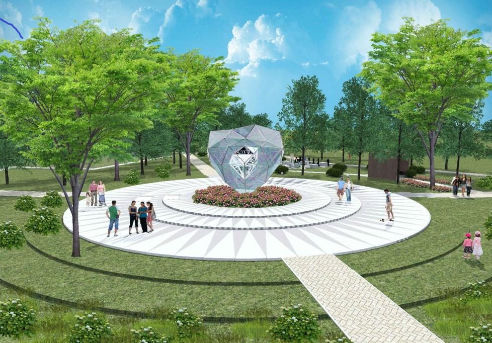 В Улан-Удэ появится скульптура «Сердце Стеклозавода»