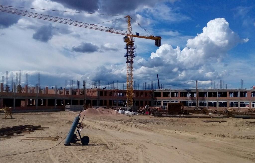 В Бурятии началось строительство новой школы на 450 мест
