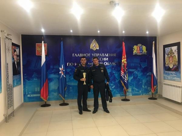Лучший пожарный эксперт МЧС работает в Иркутской области
