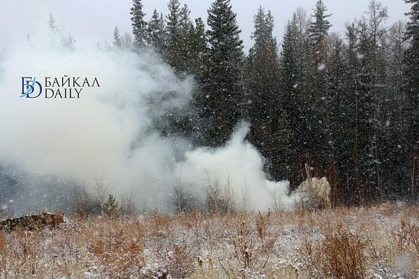 На севере Бурятии горит более 30 тысяч гектаров леса
