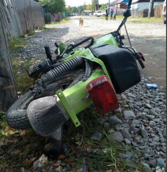 В Бурятии в ДТП пострадал 13-летний мотоциклист