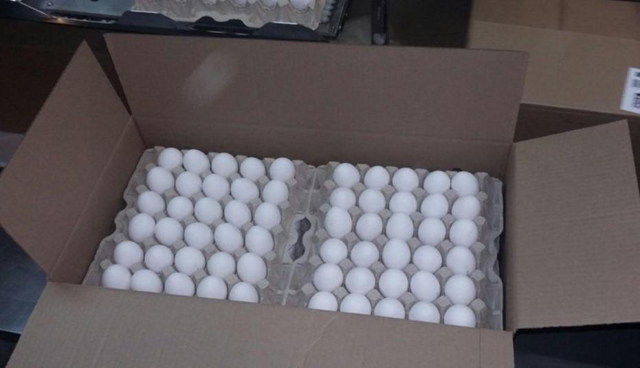 В Слюдянке остановили партию из 190 тысяч яиц без документов
