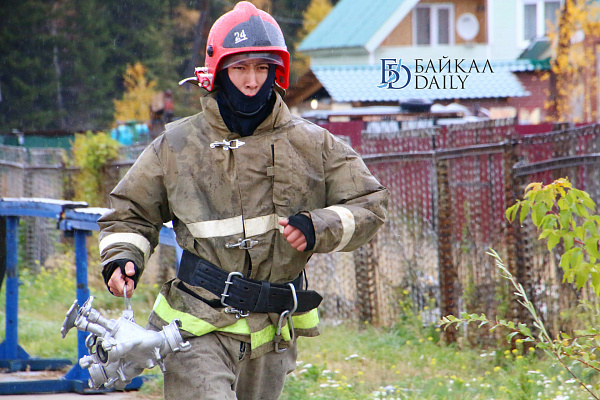 В Бурятии сгорела котельная дома