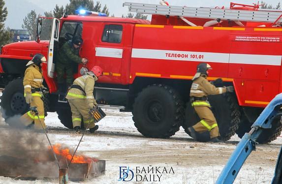 В Бурятии на пожаре эвакуировали 29 человек