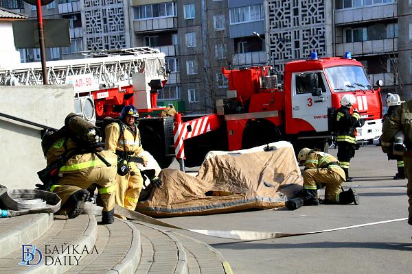 За сутки в Улан-Удэ произошёл 1 пожар