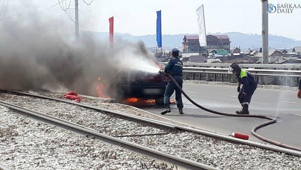 В Бурятии произошло 68 возгораний автомобилей