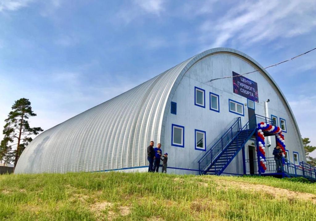 Центр гиревого спорта открылся в Бурятии