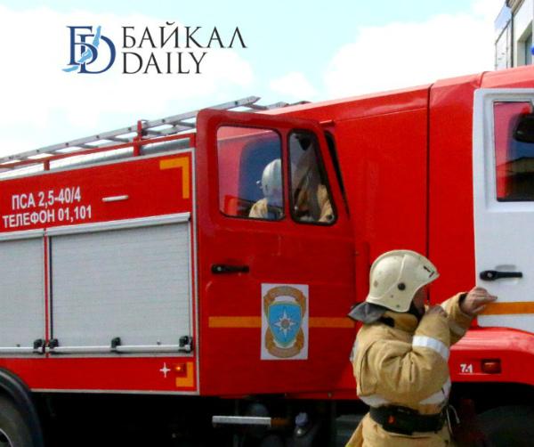 На пожаре в Бурятии двое детей и мужчина получили ожоги