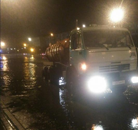 В Улан-Удэ всю ночь устраняли последствия ливня