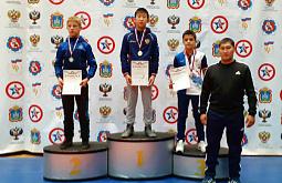 Агинский борец выиграл всероссийскую гимназиаду
