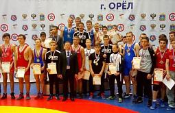 Иркутские борцы взяли 10 медалей на всероссийской гимназиаде