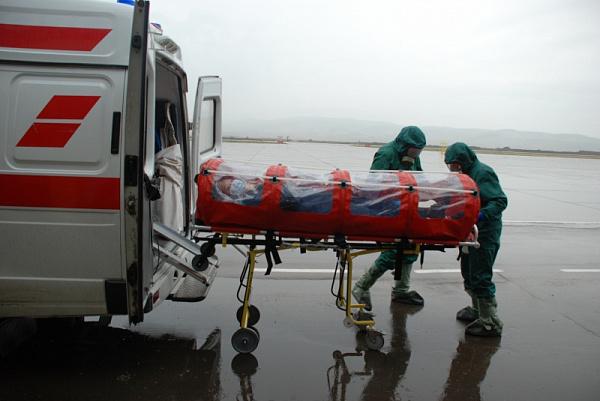 ВКургане пройдут учения попредупреждению завоза лихорадки Эбола