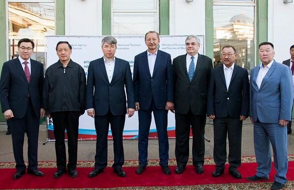 Госсекретарь министерства окружающей среды итуризма Монголии Ц.Цэнгэл побывал в«Орде»