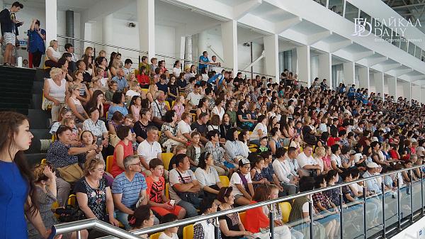 Выступление российских синхронисток в Улан-Удэ прошло с аншлагом