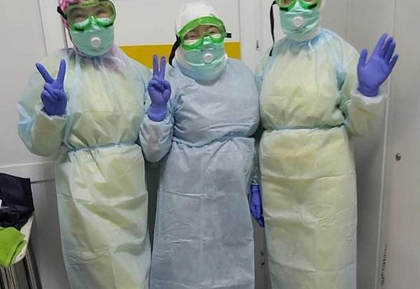 Улан-удэнцы привозят в инфекционную больницу еду, бельё и биотуалеты