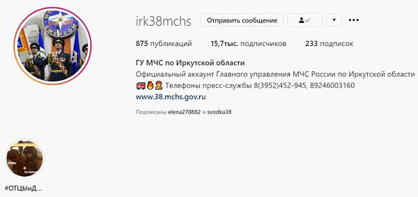 Иркутске спасатели онлайн покажут, как спасти малыша в случае беды