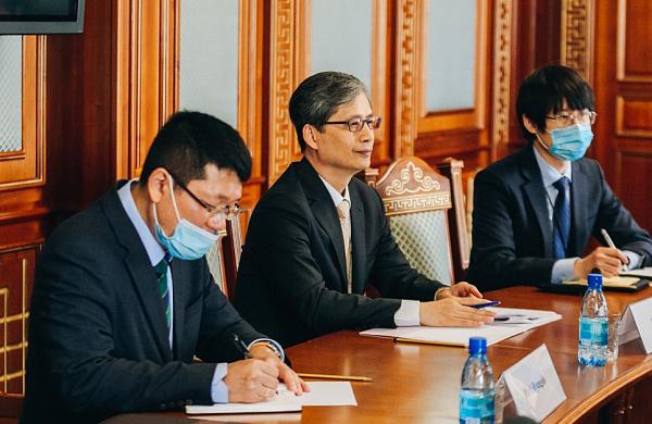 Глава Бурятии встретился с генконсулом Южной Кореи