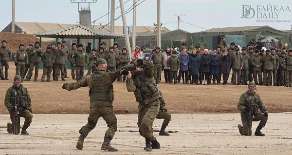 Забайкальские военные готовятся к «Воину мира-2020»