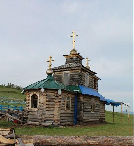 В Бурятии бывший марафонец сам построил новый храм