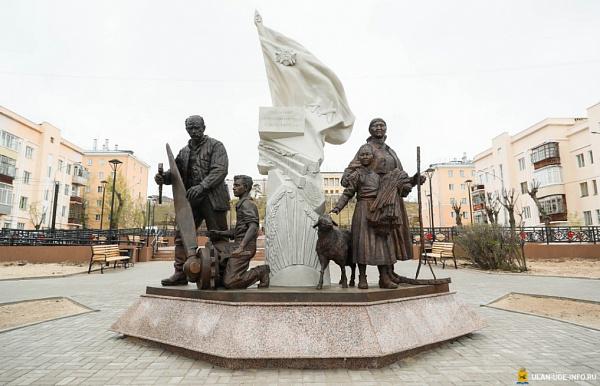 В Улан-Удэ установили новый памятник